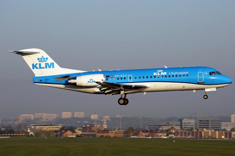 KLM Cityhopper задержка рейса