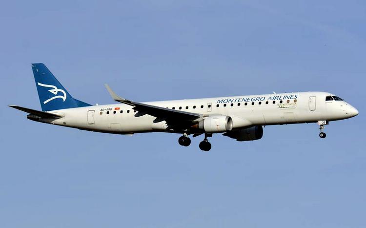 Montenegro Airlines задержка рейса