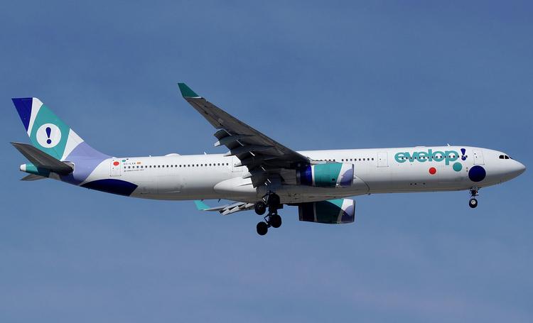 Evelop Airlines задержка рейса