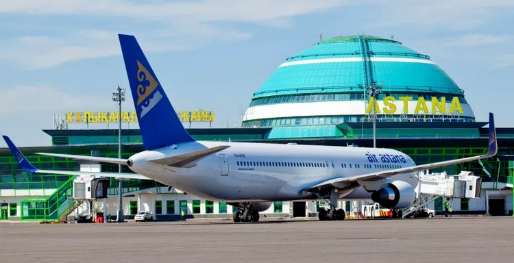 задержка рейса в Казахстане