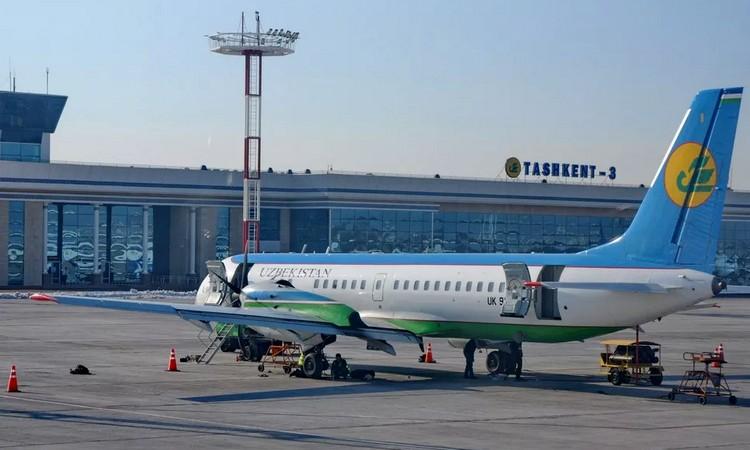 Задержка рейсов в Узбекистане