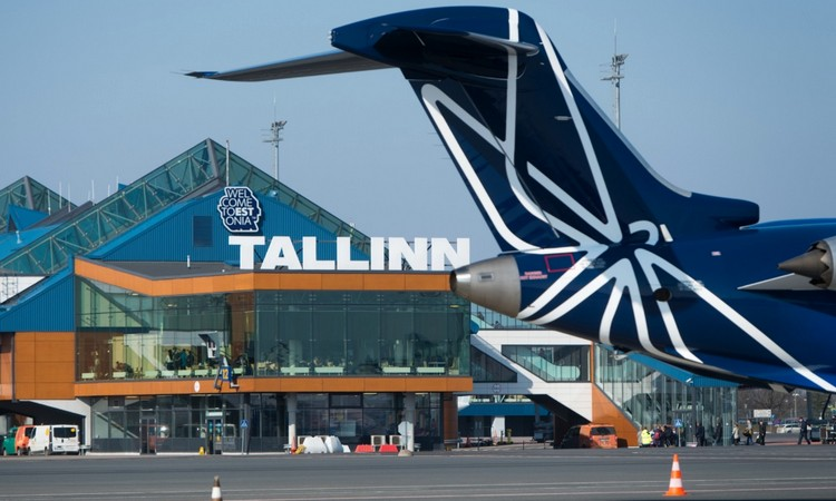задержка рейса в Эстонии