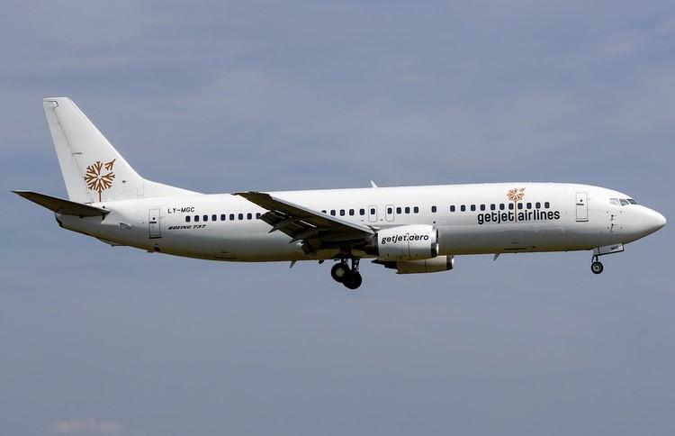 GetJet Airlines задержка рейса