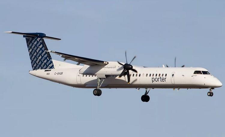 Porter Airlines задержка рейса