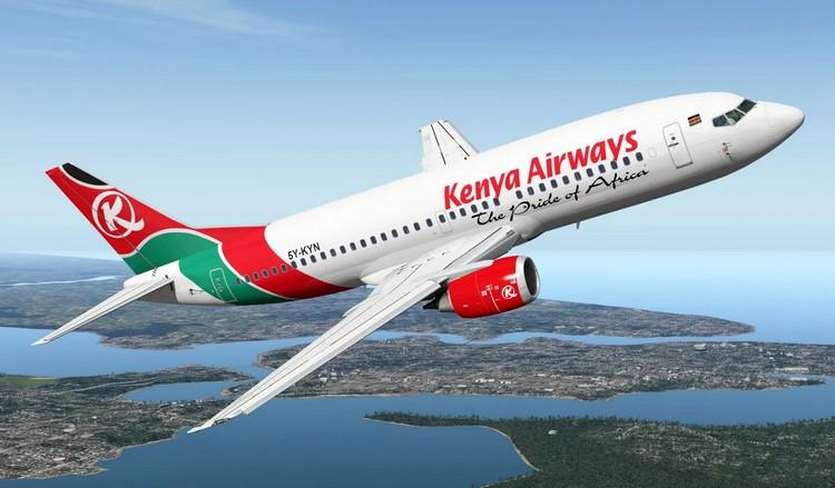 Kenya Airways задержка рейса